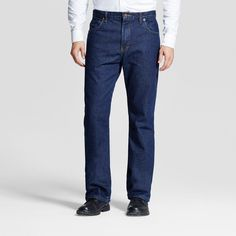 Dickies Relaxed Straight Fit Denim Flannel-Lined 5-Pocket Jean- Stone Washed 42x32