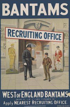 Bantams recruiting poster