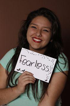 Fearless, Daniela Martínez, Estudiante, Monterrey, México.