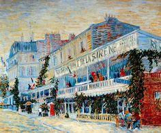 Vincent Van Gogh - Post Impressionism - Paris - Le restaurant de la Sirène à Asnières