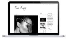 Run Away minimal WordPress theme #blogmepretty  #nooralqahtani #blogdesigns