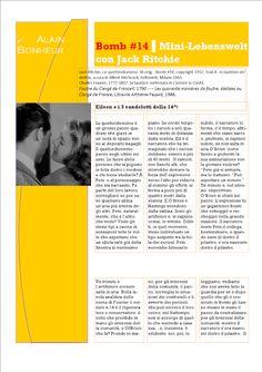 UH Magazine: Bomb #14 ▌Mini-Lebenswelt con Jack Ritchie