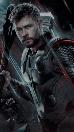 Marvel Movies, Marvel Avengers, Chris Hemsworth Thor, Superhero Villains, The Mighty Thor, Man Thing Marvel, Avengers Wallpaper, Avengers Infinity War, Marvel Cinematic Universe