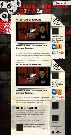 Rock Email Template