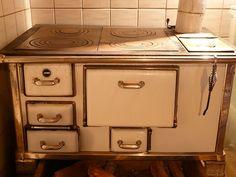 oven, stove, fireplace, doors, folding, enamel, old