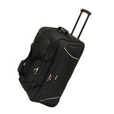 "Travel USA -26"" Wheeled In-Line Skate Rolling Duffel Bag - (Black) naturally home $45.00 http://smile.amazon.com/dp/B00S8LH6AK/ref=cm_sw_r_pi_dp_nTv9ub087EC77"
