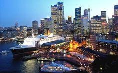 Sydney, Australia. My favorite city so far.