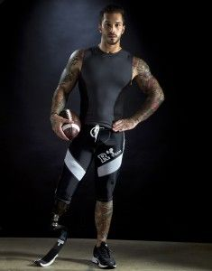 Marine Lance Cpl. Alex Minsky (pictured) lost his leg when his truck rolled over an IED (improvised explosive device) in Afghanistan he had no idea how greatly his journey would end up empowering people with disabilities.