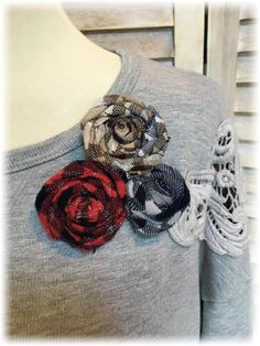 Upcycled Medium M Fun Flirty and Cozy Fleece and Flannel