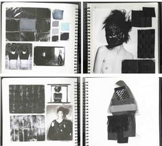 Fashion Sketchbook - fashion design development with mood, fabric & colour research // Bianca De Csernatony