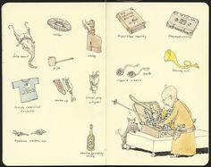 Mattias Inks: Packing for Copenhagen