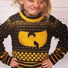 Fancy - Wu-Tang Christmas Sweater by Shredders Knitted Apparel