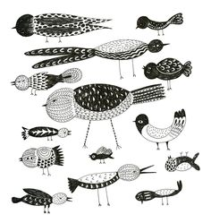 Do you love Birds? Here are some for you. - Art is a Way | Art is a Way