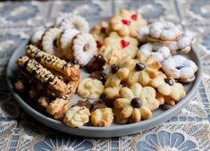 High Tea Cookies or Cookie Press Cookie Honey Cookies, Tea Cookies, Chilean Recipes, Chilean Food, Cookie Press, Strawberry Jam, Cookies Ingredients, Pastry Cake, Good Housekeeping