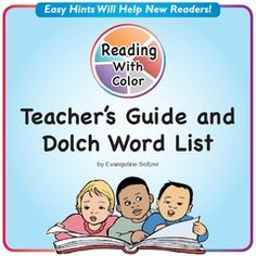 Use Colors on Long and Short Vowels for Reading Success!! Enter for your chance to win 1 of 2. Reading With Color: Teacher's Guide and Dolch Word List  (21 pages) from Reading With Color on TeachersNotebook.com (Ends on on 07-26-2016) Improve success in reading by having students color vowels and unusual spellings according to an easy-to-learn system. Win this handy guide that includes all Dolch words with color hints. Follow me to be notified of new promotions!.