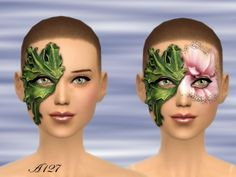altea127 SimsVogue: New Face Painting