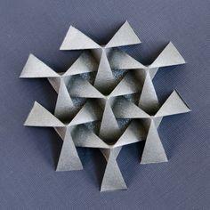 More fun with #origami #tessellation