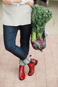 """These women are redefining """"Mom Style"""" in Poppy Barley Boots and Shoes. Our made-to-measure, all-leather, custom shoes and boots ensure a comfortable fit all while redefining your typical mom style Custom Shoes, Mom Style, Leather Boots, Rubber Rain Boots, Poppy, Chelsea Boots, What To Wear, Magazine, Fit"""