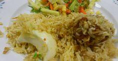 Arroz con pollo pakistaní
