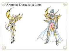 Artemisa Diosa de la Luna by Javiiit0