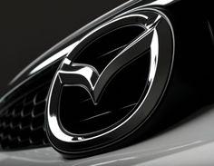 Mazda in dark logo