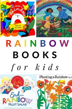 Take the Read the Rainbow Reading Challenge with these rainbow themed books and tracking sheet. Take the Read the Rainbow Reading Challenge with these rainbow themed books for each color of the rainbow. Spring Activities, Kindergarten Activities, Writing Activities, Toddler Books, Childrens Books, Book Themes, Reading Themes, Spring Books, Read Aloud Books