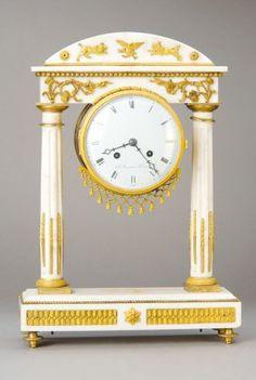 Interesting Portico Clock, France, Louis Xvi