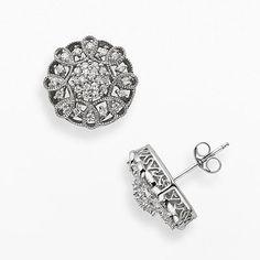 Simply Vera Vera Wang diamond stud earrings from Kohls