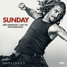 There's gonna be a brawl if you're not caught up with Season 2! Watch the Outsiders mini-marathon SUNDAY starting at 11am/10c on WGN America!
