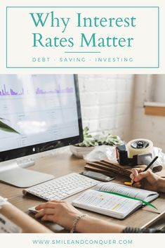 Whether you are paying off debt or saving money, getting the best interest matters! Find out why you need to seek out the lowest or highest rates. High Interest Savings, Interest Rates, Best Savings Account, Financial Tips, Financial Planning, Budgeting Money, Money Saving Tips, Managing Money, How To Raise Money