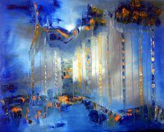 """""""Recuerdos del futuro"""" - Fernando Gastron - Oleo sobre tela - 80 x 100 cm - www.esencialismo.com"""