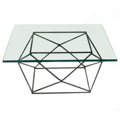 Milo Baughman Geometric Coffee Table