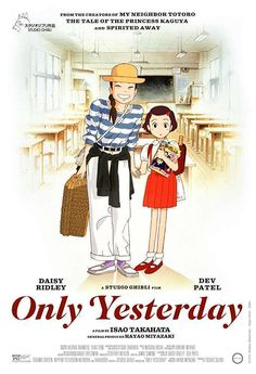 Watch only yesterday movie. Only yesterday is the film produced by studio ghibli, written and. Never-before-released studio ghibli film 'only yesterday'. Yesterday Movie, Only Yesterday, Yamagata, Hayao Miyazaki, Studio Ghibli Films, Isao Takahata, Image Internet, My Neighbor Totoro, Film Serie