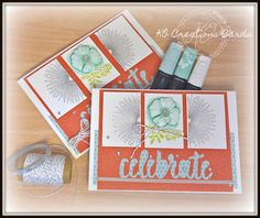 KOCreations Stampin' Up! Blog: Congrats - Sale-A-Bration card
