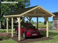 Resultado de imagen para cocheras de madera prefabricadas