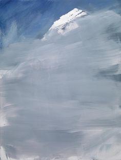 """ Herbert Brandl (Austrian, b. 1957), Untitled, 2009. Oil on canvas, 120 x 90 cm. """