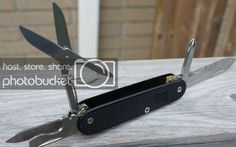 (My adventures into Alox!) - page 10 - The Mod Squad Swiss Army Pocket Knife, And So It Begins, Edc Knife, Urban Survival, Edc Tools, Knives And Tools, Squad, Conversation, How To Look Better