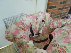 Elephants print baby shopping cart cover/ high by littlestitches59, $38.00