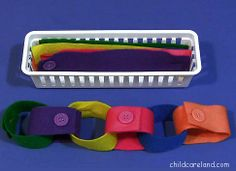Felt Button Chain  - Pinned by @PediaStaff – Please Visit  ht.ly/63sNt for all our pediatric therapy pins