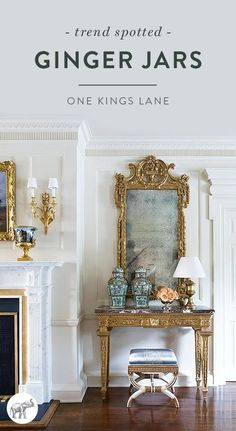 We've recently been spotting one of the most iconic chinoiserie accents—ginger jars—used in modern ways in stylish homes across the world. See some of our favorites here!