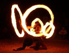 Fire Dancers...Oregon Country Fair