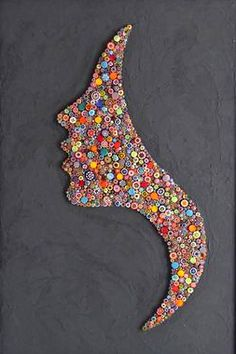 Mosaic Tile Art, Mosaic Crafts, Mosaic Projects, Mosaic Artwork, Diy Canvas Art, Diy Wall Art, Diy Wall Decor, Paper Quilling Designs, Quilling Paper Craft