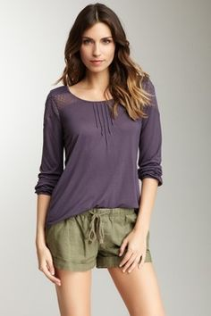 Gentle Fawn Twig Long Sleeve Top