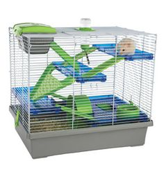 Pico Xl Hamster Cage - Silver