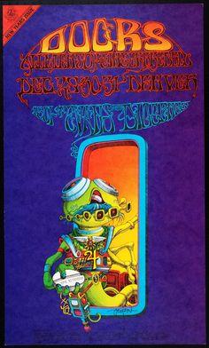 Rick Griffin - Doors - Allmen Joy - Gingerbred Blu