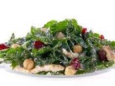 Kale and Hummus Salad Recipe   Giada De Laurentiis   Food Network