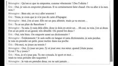 dialogue 37 un voyag