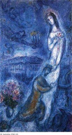 Bathsheba - Marc Chagall 1962