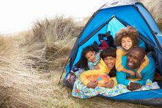 Camping Tips for a Fun, CheapVacation! - Household Shortcuts - Who Knew Tips - from the authors of the As Seen on TV books