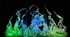 """""""Sweet Motion of the Northern Lights"""" Ice Scupture www.bing.com"""